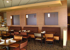 Dining Area with 3 form panels